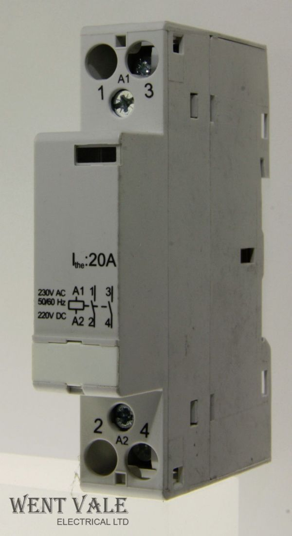 Acel - AC3161 - 20a Normally Open Contactor 230V Coil  Un-used